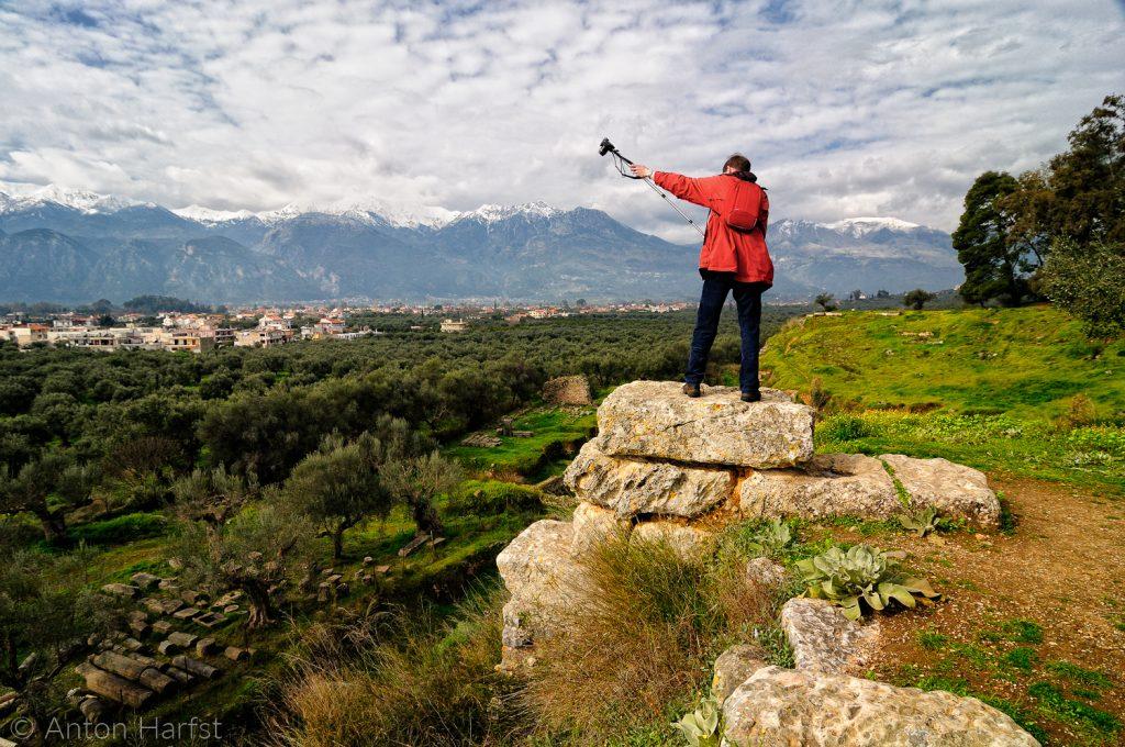 Acropolis Sparta Griekenland Reisfoto's vakantiefoto