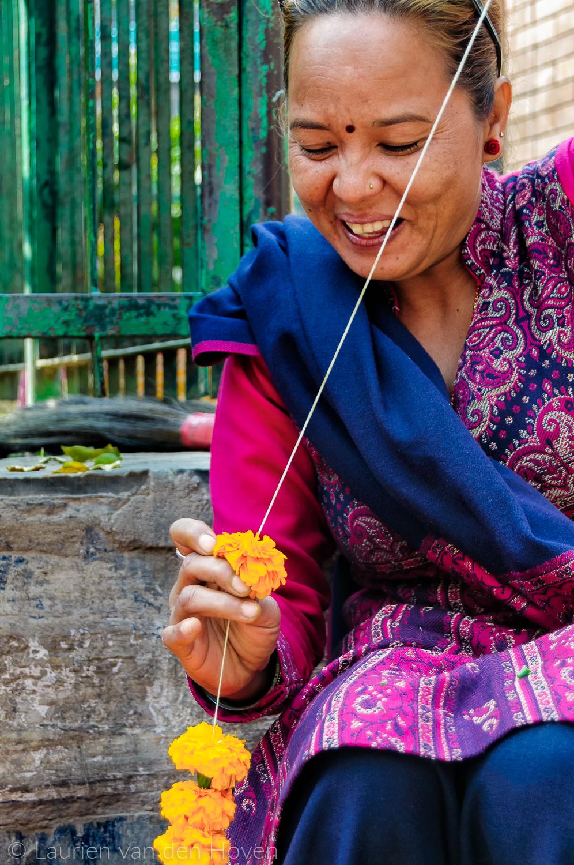Nepal Lichtfestival vakantiefoto's reisfoto's reis