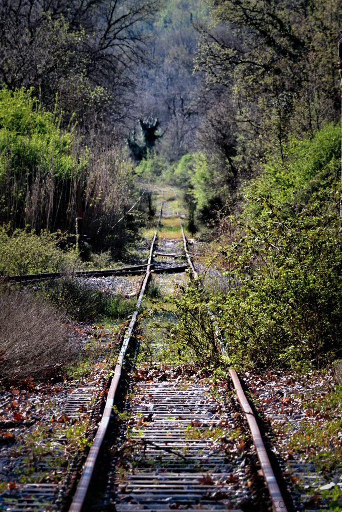 Verlaten spoorlijn Peloponnesos