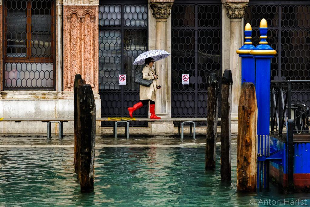 Venetië hoog water