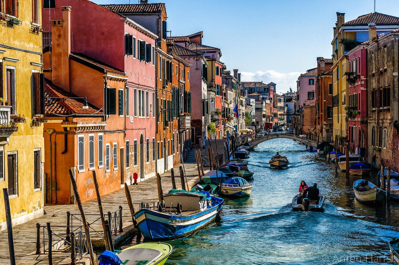 Kanaal in Venetië