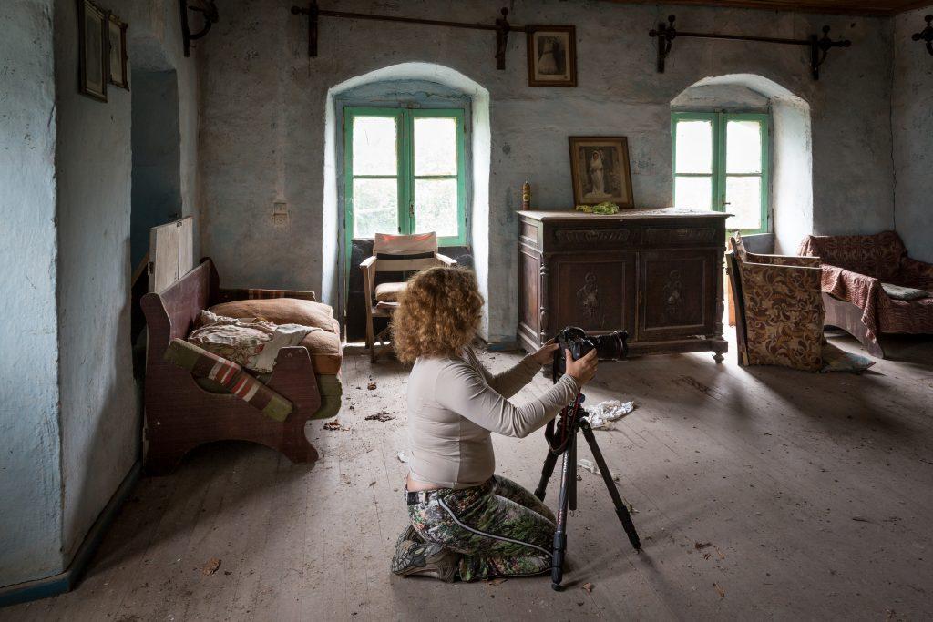 Fotograferen op urbex locatie