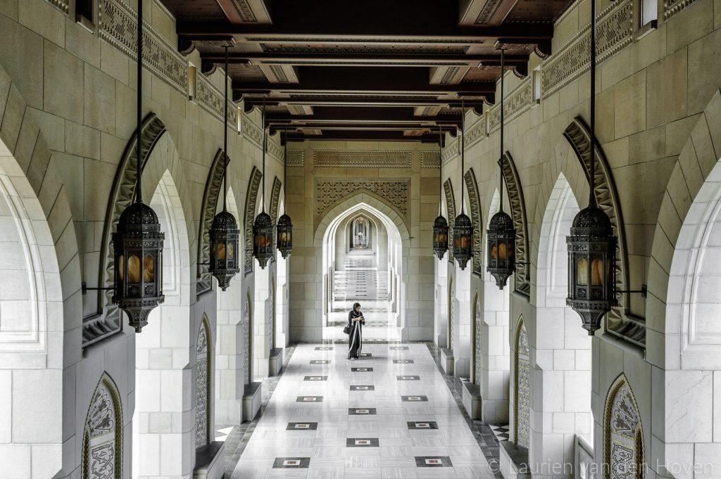 Sultan Qaboos-moskee in Oman