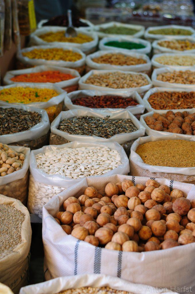 Oman kruiden op bazaar