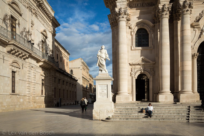 Syracuse Italië Reisfoto's vakantiefoto's reis