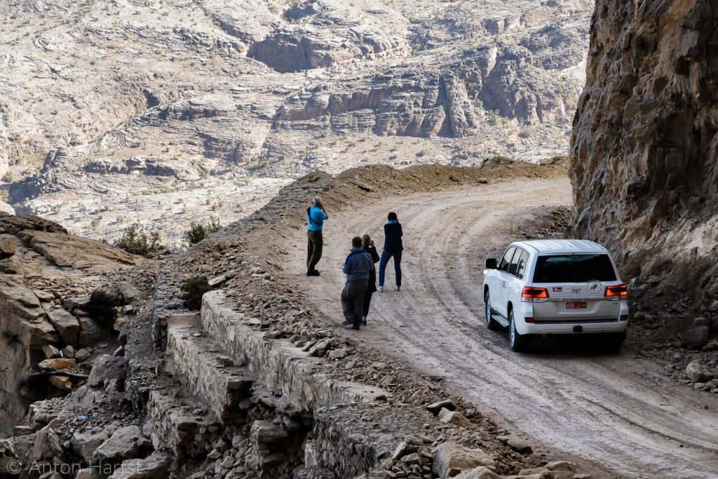 Oman Wadi Bani Auf Fotografen