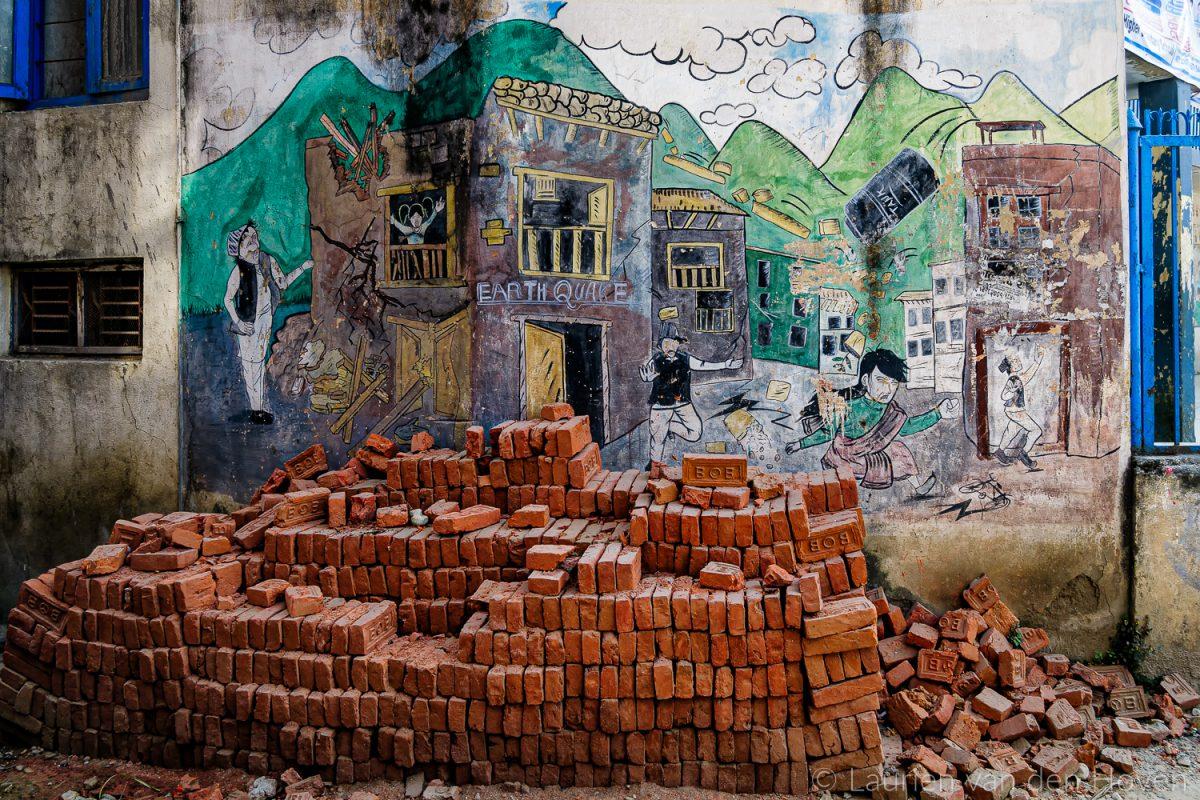 Aardbevingen Nepal 2015