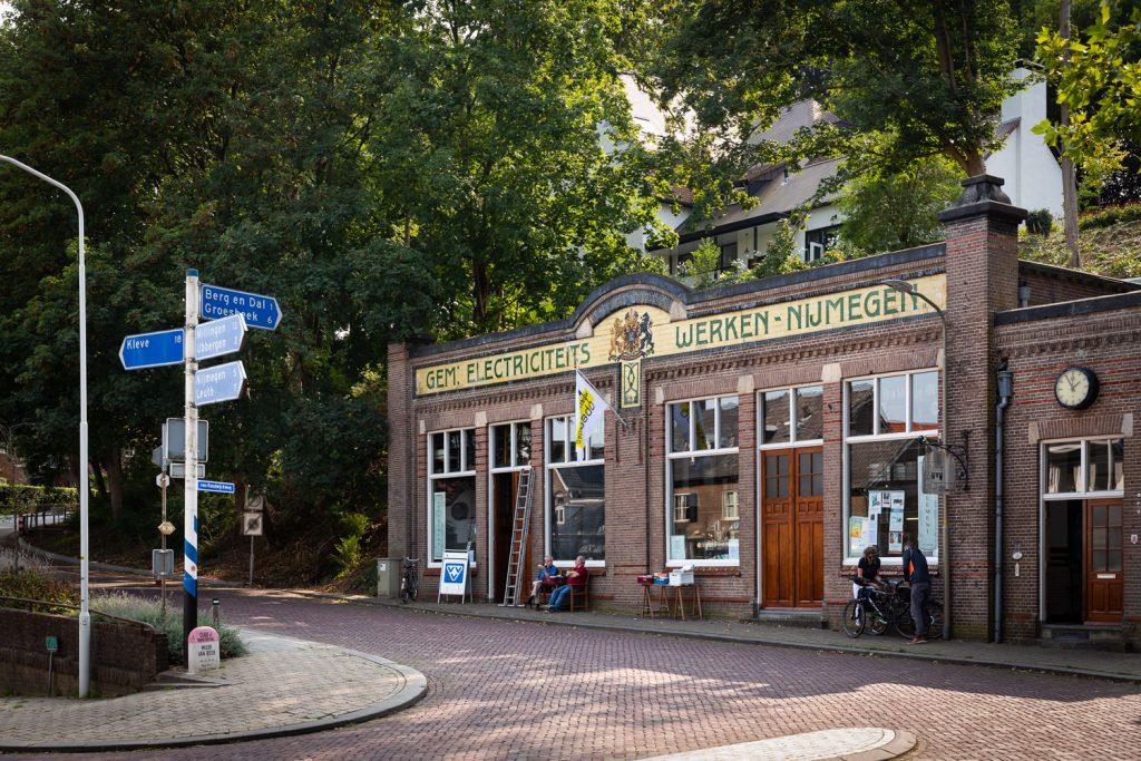 voormalig gebouw van de elektriciteitswerken van Nijmegen te Beek