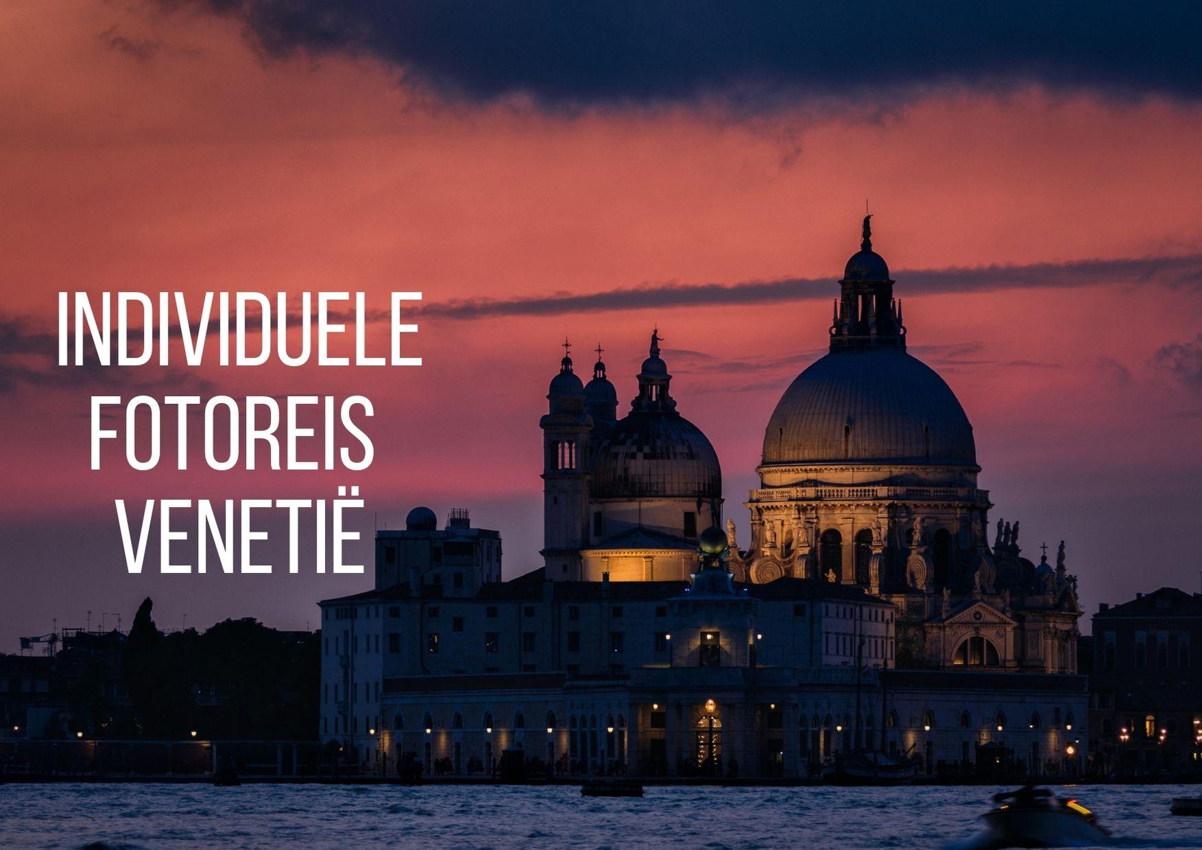 Individuele fotoreis Venetië