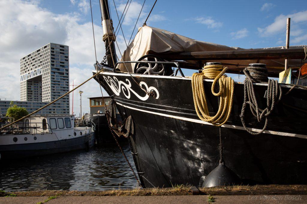 Amsterdams Stadslandschap ten westen van het Centraal Station