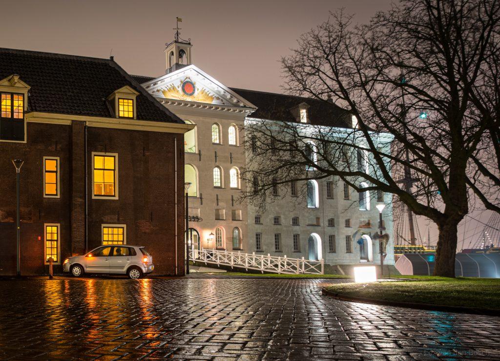 Nachtfoto in Amsterdam