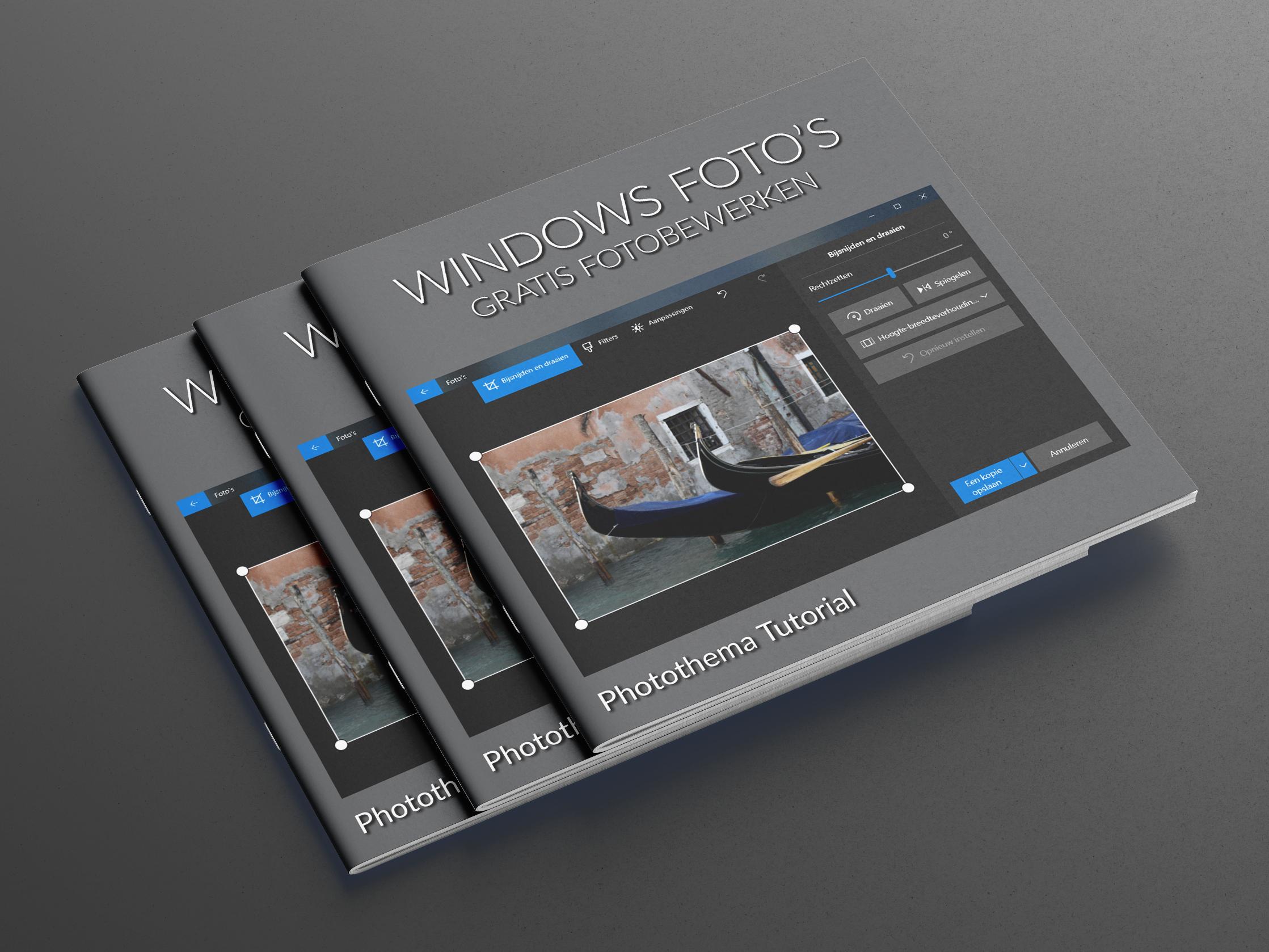 Foto's verkleinen met Windows Foto's